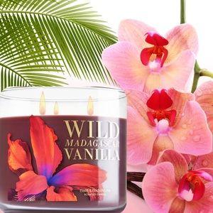 "NEW ""Wild Madagascar Vanilla"" Candle"